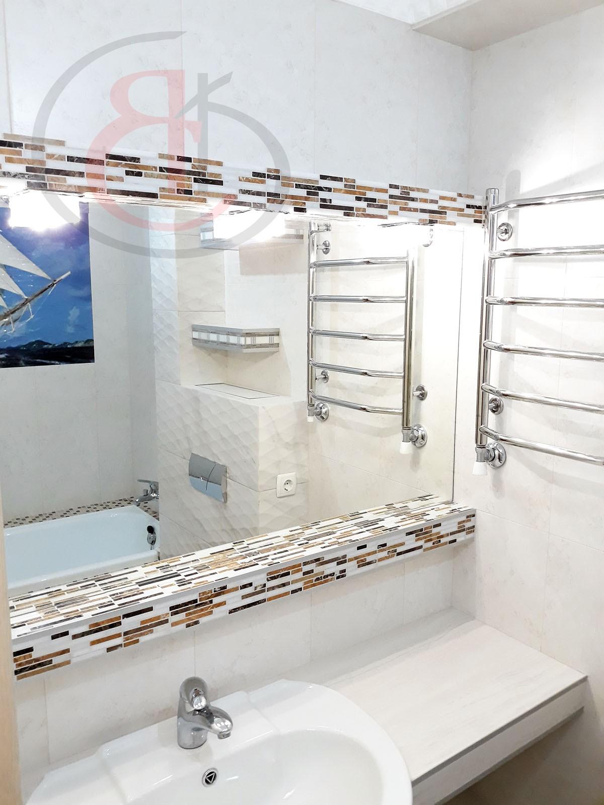 """ремонт ванной комнаты по гарантии от компании """"ЯСК-СТРОЙ"""