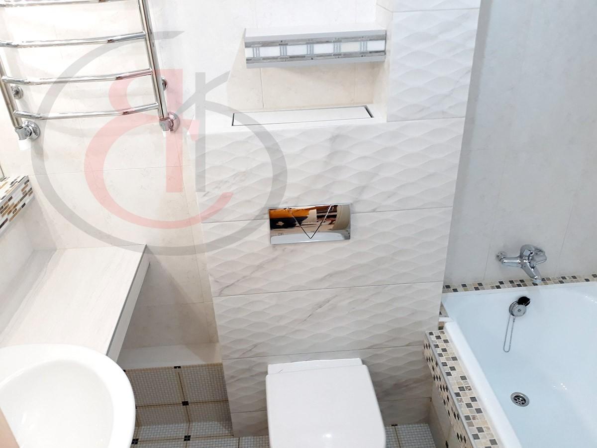 Как подобрать плитку для ремонта ванной комнаты
