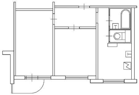Отделка квартиры 30м2